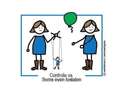 Controle versus soms een loslaten mm