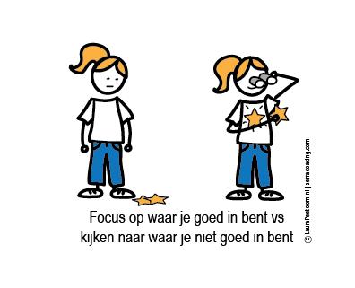 Focus op waar je wel goed in bent mm