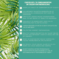 De 10 fundamentele stappen in talentontwikkeling